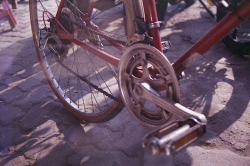 Free stock photo of analog, analog camera, bicycle