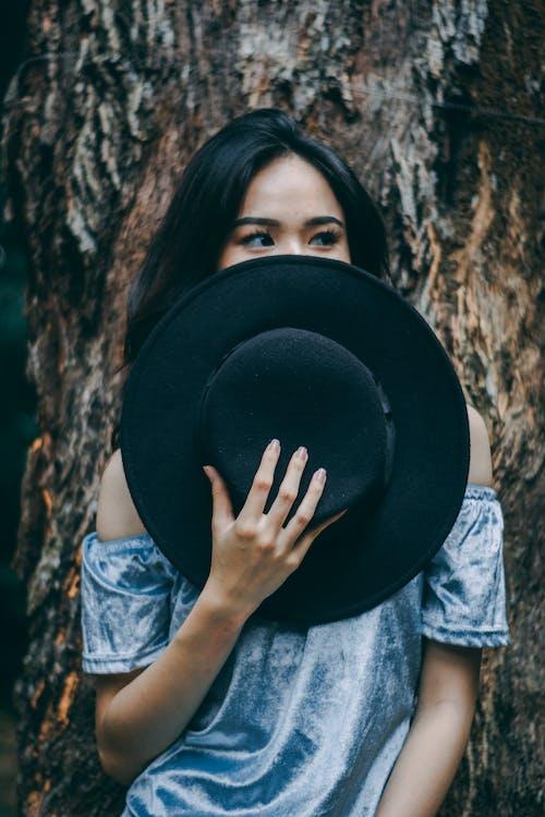 Ingyenes stockfotó álló kép, aranyos, ázsiai nő, divat témában