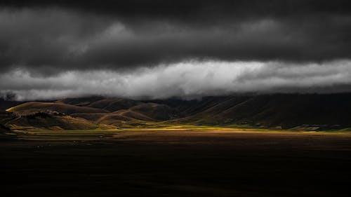 Бесплатное стоковое фото с HD-обои, буря, горный хребет, горы