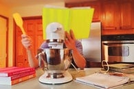 table, kitchen, housework