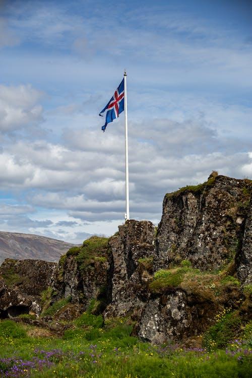アイスランド, シンボル, 古代, 夏の無料の写真素材