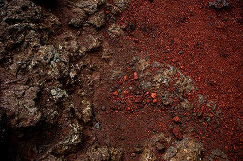 Foto d'estoc gratuïta de Islàndia, roques, roques vermelles