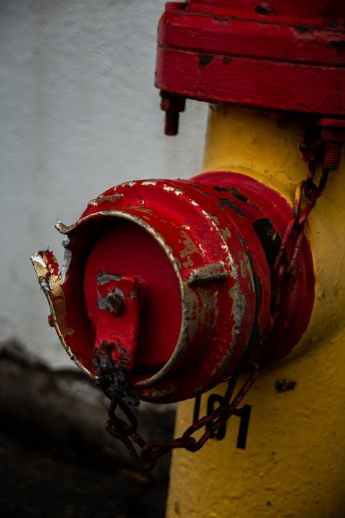 Foto d'estoc gratuïta de boca d'incendi, decaïment, defensa contra incendis