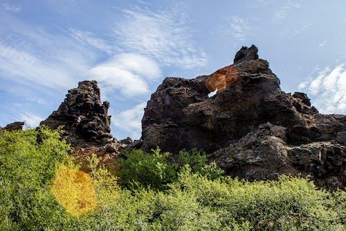 Gratis arkivbilde med bergformasjon, bergformasjoner, blå himmel, steiner