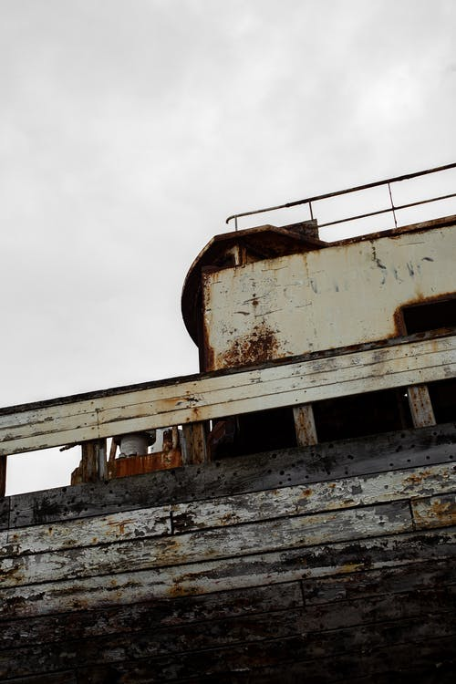 Free stock photo of abandoned, decay, decaying, ship