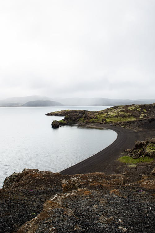 Island With Black Sand