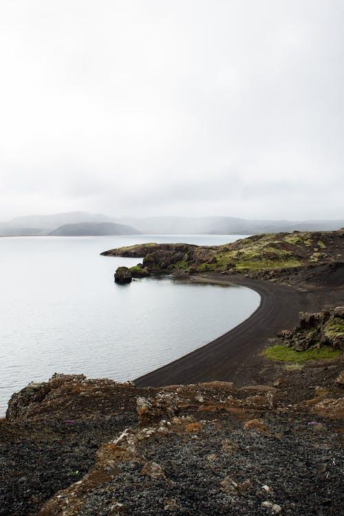 Island With Black Sand