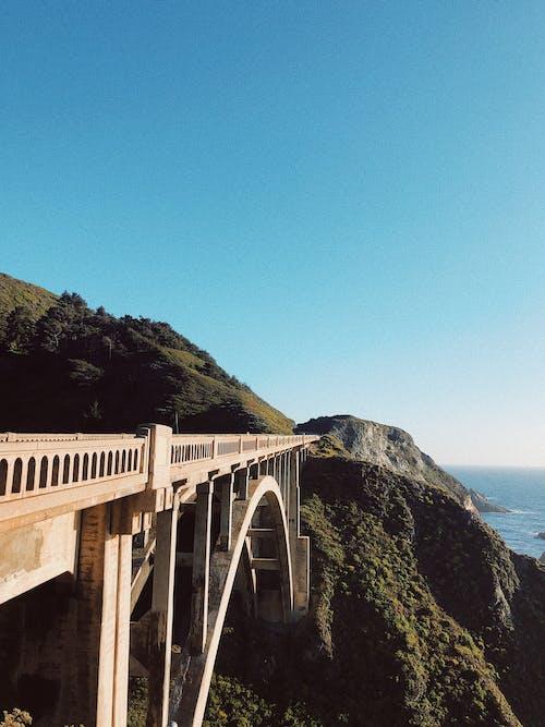 Безкоштовне стокове фото на тему «архітектура, берег моря, вода, гора»