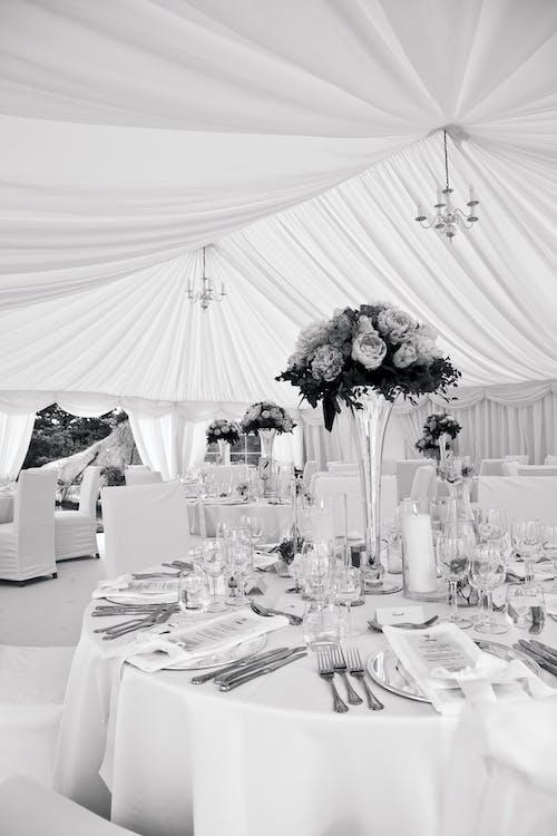 Free stock photo of dinner table, interior, wedding, wedding reception