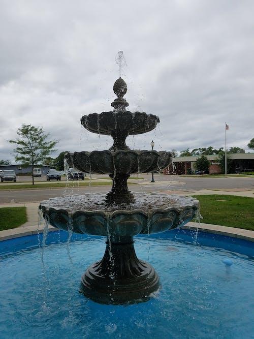Imagine de stoc gratuită din apă, centrul orașului, fântână, fântână arteziană