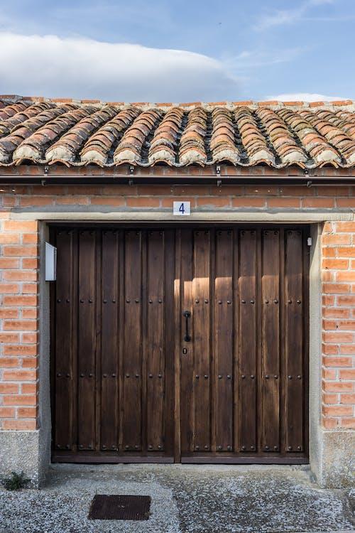 arquitectura, casa, de madera