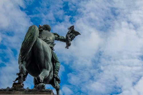 Free stock photo of bronze, clear sky, clouds, guatemala