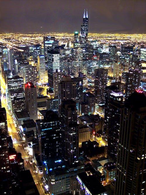 Gratis arkivbilde med by, bybilde, bygninger, chicago