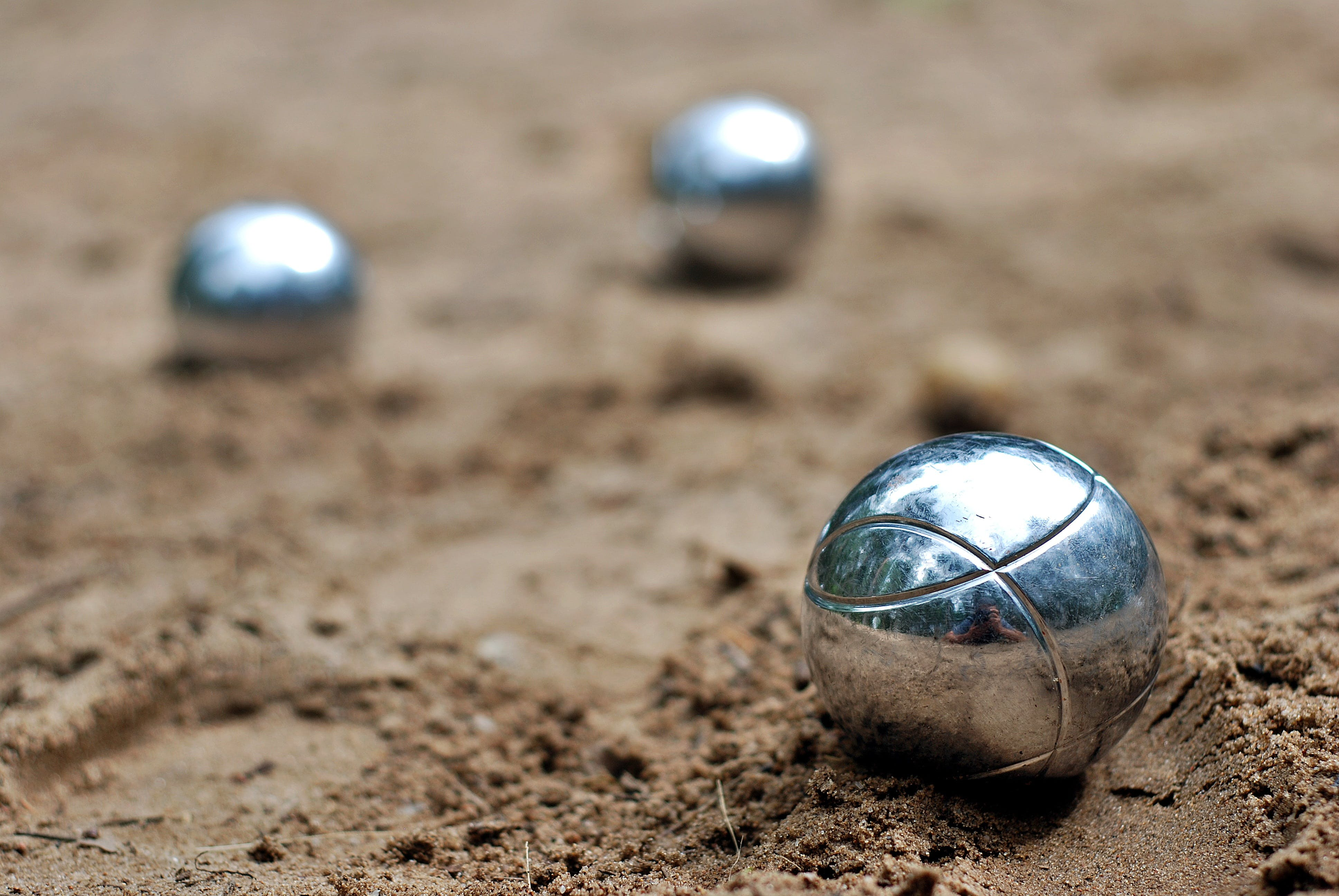 Closeup Photography of Silver Balls