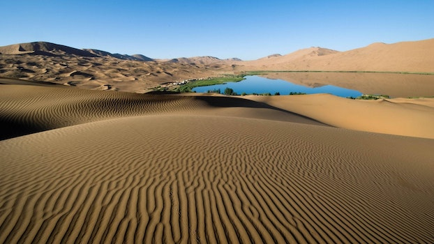 Free stock photo of landscape, sand, water, desert