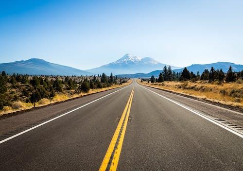 Základová fotografie zdarma na téma asfalt, cestování, dálnice, denní světlo
