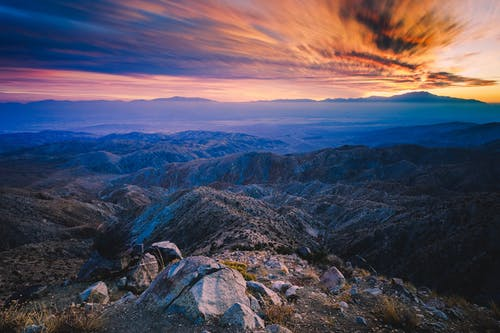 Time Lapse Photography Of Rocky Mountains During Dawn