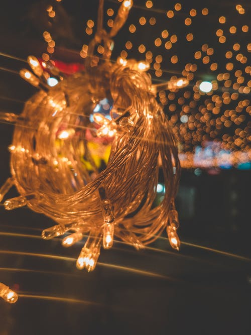 Free stock photo of 4k wallpaper, bokeh, busy street, christmas lights
