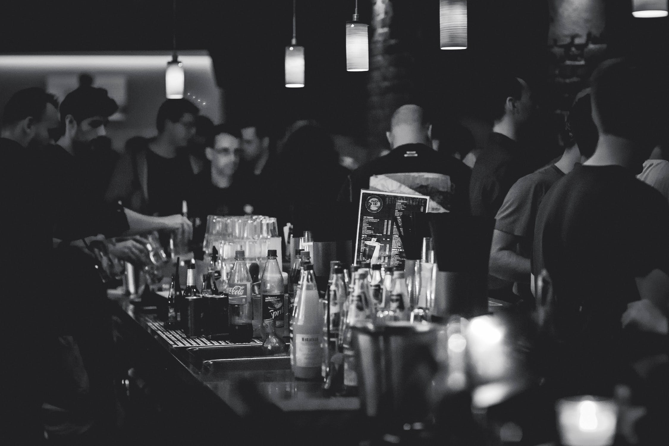 A bar - one of the most popular NJ places for singles