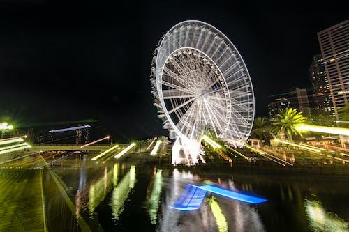 Free stock photo of camera movement, city, dark