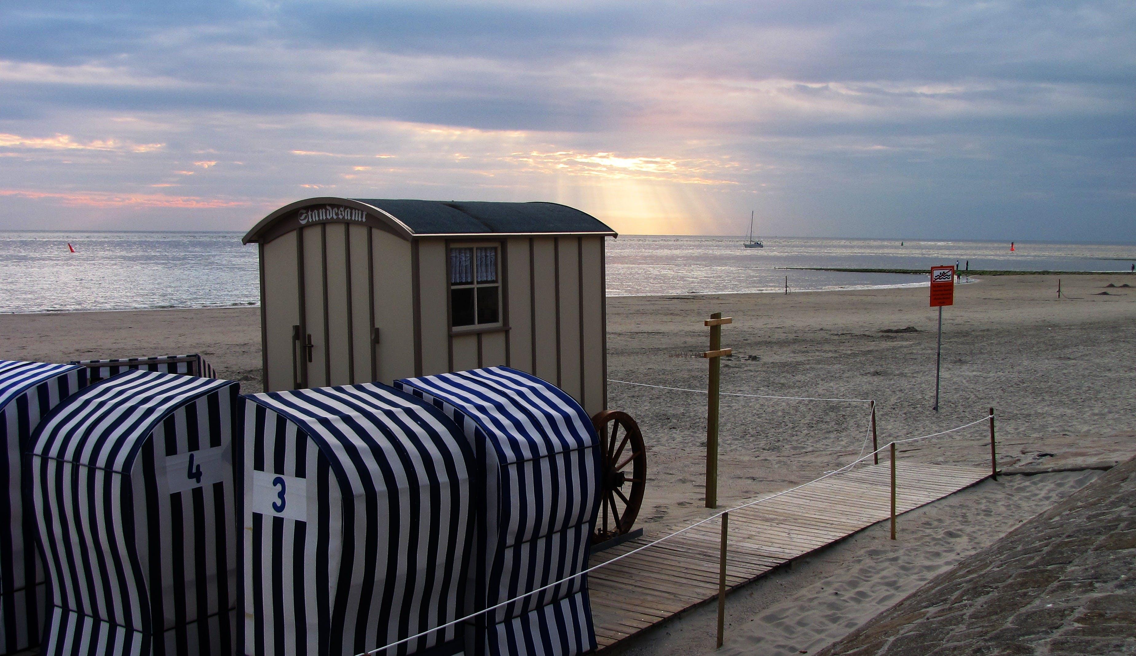 คลังภาพถ่ายฟรี ของ ชายหาด, ทราย, ทะเล, น้ำ