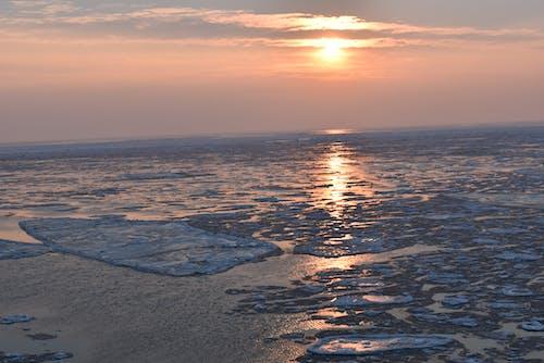 Free stock photo of ice, sea scape, winter landscape