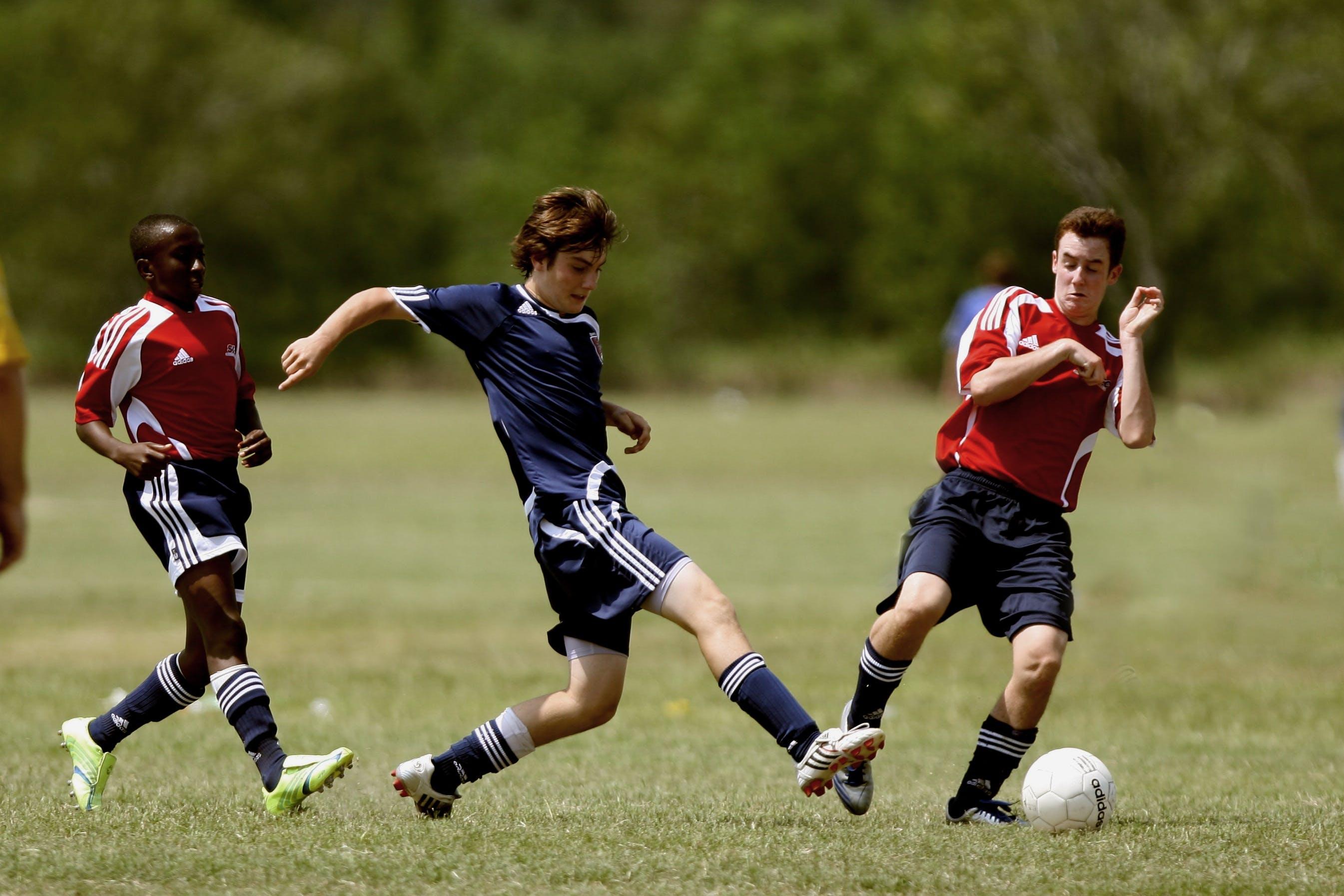 Kostenloses Stock Foto zu action, athleten, ausbildung, ball