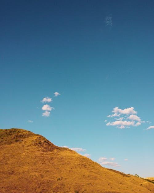 Δωρεάν στοκ φωτογραφιών με βουνό, βουνοκορφή, γαλάζιος, γυμνά χρώματα