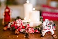 table, blur, decoration
