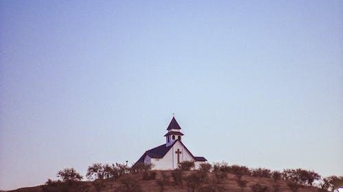 Fotos de stock gratuitas de al aire libre, arboles, arquitectura, capilla