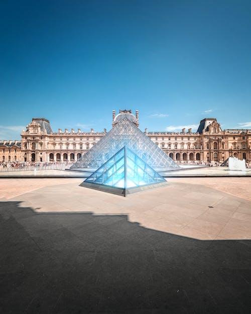 Δωρεάν στοκ φωτογραφιών με ελαφρύς, Λούβρο, μουσείο, Παρίσι