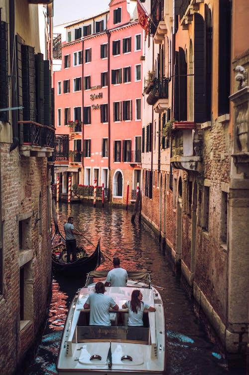 イタリア, ゴンドラ, ソニー, ベネチアの無料の写真素材