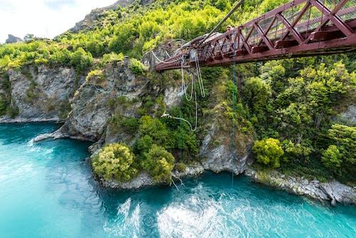 Kostnadsfri bild av äventyr, bro, flod, järn