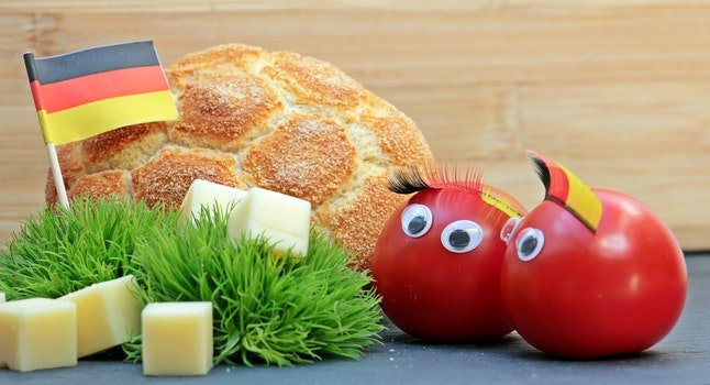 Free stock photo of bread, food, healthy, vegetables