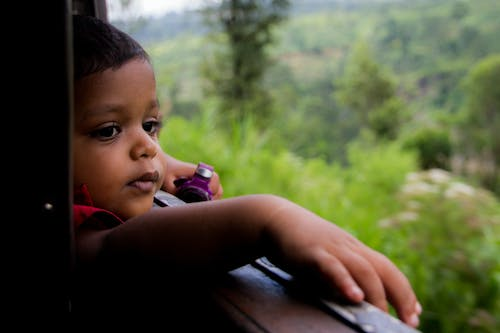Free stock photo of beautiful view, child, contemplation, quiet