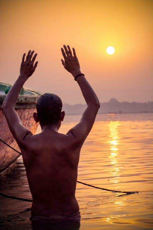 Immagine gratuita di aarti, agra, barca, casa di culto