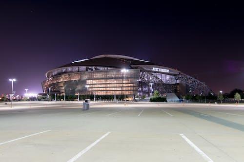 Darmowe zdjęcie z galerii z budynek, dallas, na stadionie & t, nfl