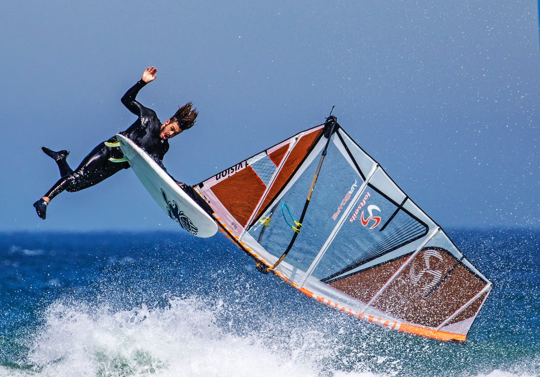 windsurfing, αναψυχή, άνδρας