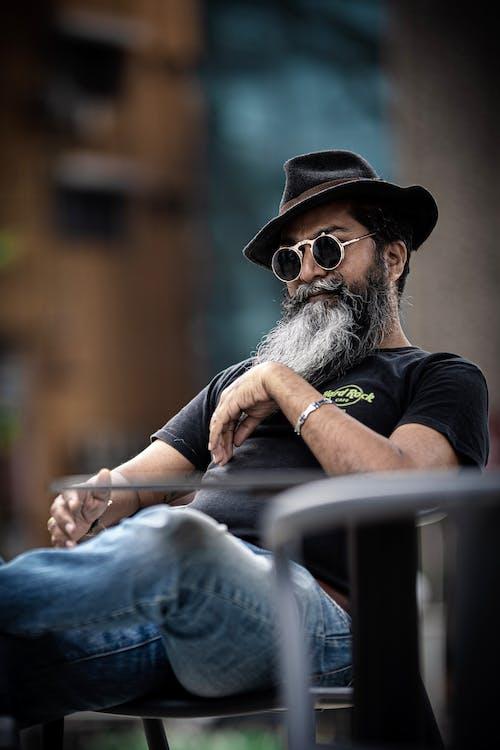Free stock photo of bearded dragon, bearded man, full beard
