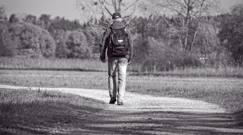 Free stock photo of alone, away, go, hiking