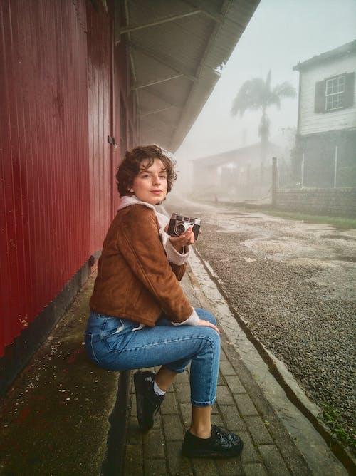 Základová fotografie zdarma na téma brzké ráno, déšť, dospělý, fotograf