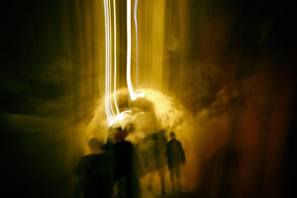 agente, Desenfoque de movimiento, túnel