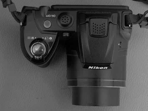 Free stock photo of a Nikon camera