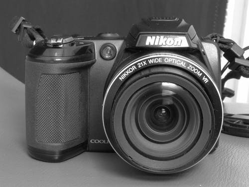 Free stock photo of a camera