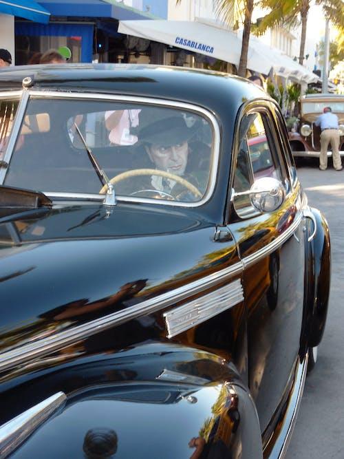 Free stock photo of Miami Beach, old car