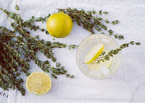 Photo of Lime Fruits and Thyme