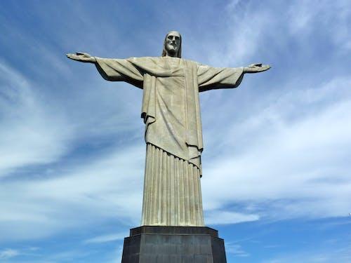 Free stock photo of brazil, chris redentor, rio de janeiro