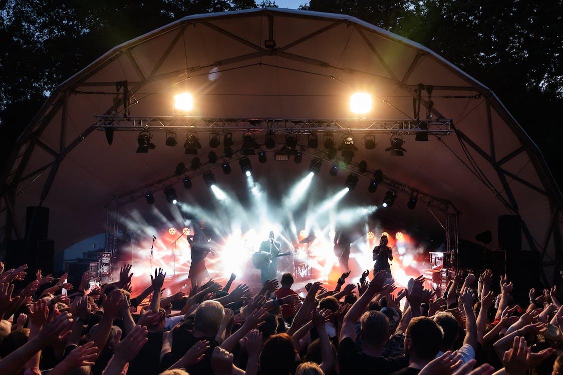 band, bifald, Festival