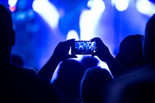 Free stock photo of band, celebrate, cell phone