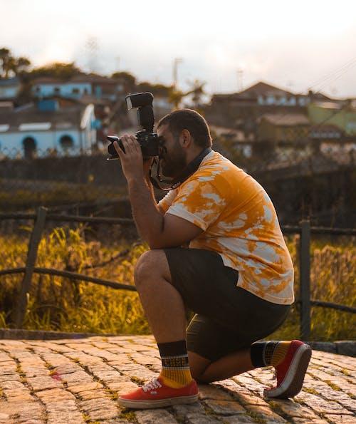 Fotobanka sbezplatnými fotkami na tému kameraman